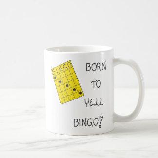 Tasse au sujet de bingo-test