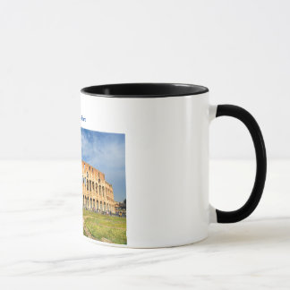 Tasse avec Colosseum à Rome