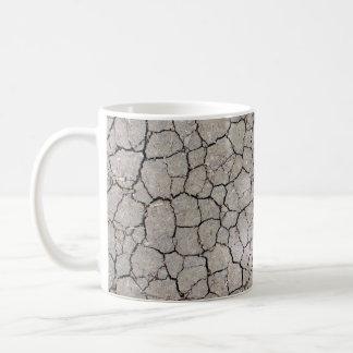 Tasse avec une structure de sol sec