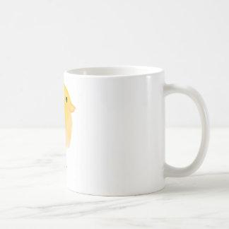 Tasse blanche classique de poussin