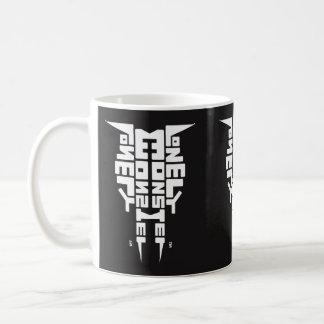 Tasse blanche standard avec logo blanc/noir de
