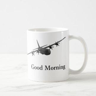 Tasse bonjour de C-130 Hercule