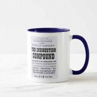 Tasse composée de Victoriana d'indigestion