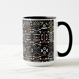 Tasse contemporaine indienne indigène tribale