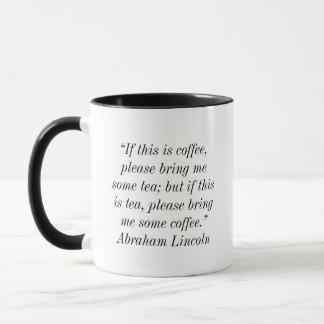 Tasse d'Abraham Lincoln