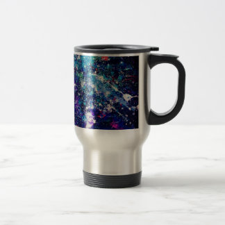 Tasse d'acier inoxydable de galaxie de parties