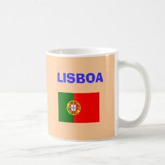 Tasse d'aéroport de Lisbonne