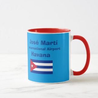 Tasse d'aéroport international de La Havane Jose