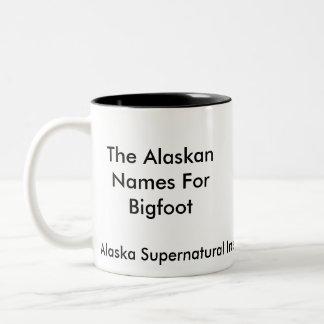 TASSE d'Alaska de Bigfoot