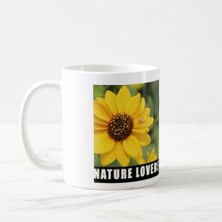 Tasse d'amants de nature