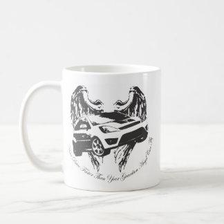 Tasse d'ange gardien de voiture