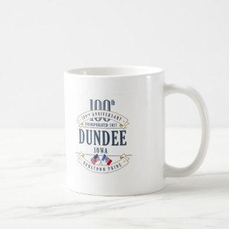 Tasse d'anniversaire de Dundee, Iowa 100th