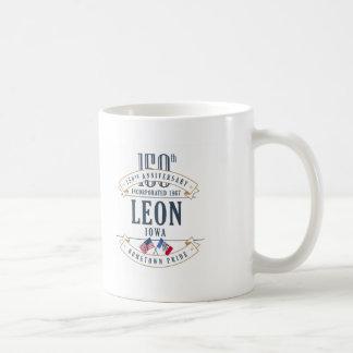 Tasse d'anniversaire de Léon, Iowa 150th