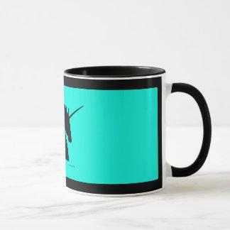 "Tasse d'Aqua ""de Sigil noir de licorne"""