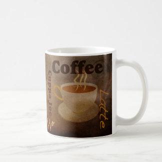 Tasse d'art du mot de l'amant de café