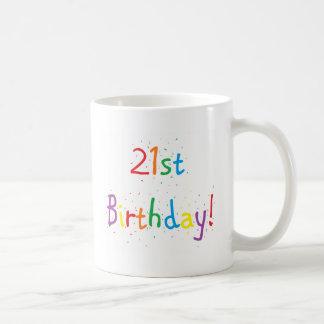 """tasse de """"21ème anniversaire"""""""