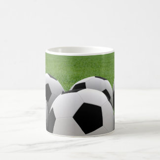 Tasse de ballons de football