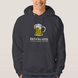 Tasse de bière à la maison de brassage Brewmaster Veste À Capuche