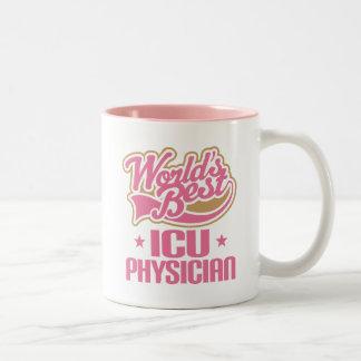 Tasse de cadeau d'appréciation de médecin d'ICU