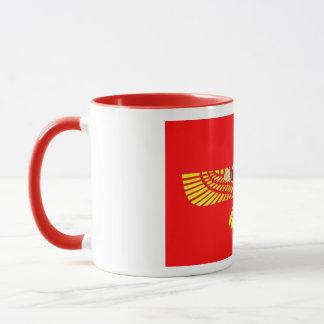 Tasse de café à ailes de disque