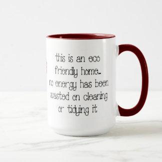 Tasse de café à la maison amicale d'Eco
