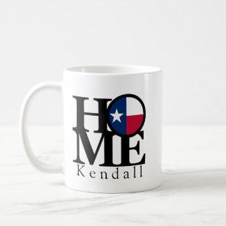 Tasse de café À LA MAISON de Kendall le Texas