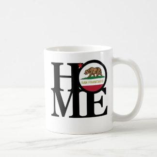 Tasse de café À LA MAISON de San Francisco