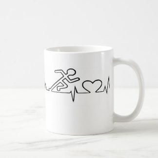 Tasse de café active