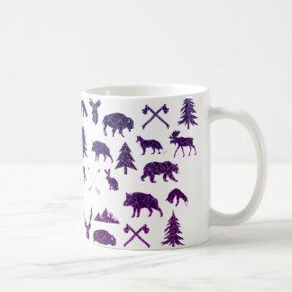 Tasse de café animale géométrique des animaux | de