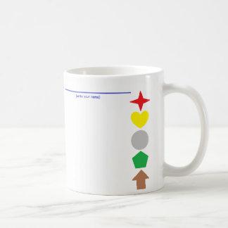 """Tasse de café """"assortissez couleurs"""""""