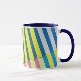 Tasse de café avec la conception d'architecture