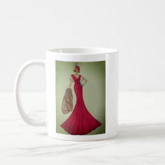 Tasse de café avec l'illustration de mode