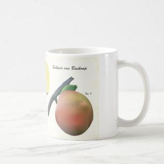 Tasse de café avec l'illustration scientifique
