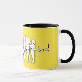 Tasse de café cinq célèbre