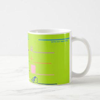 """Tasse de café d'activité """"appelez images"""""""