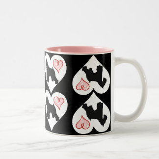 Tasse de café d'amant de Schnauzer