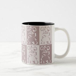 Tasse de café d'amour de Schnauzer