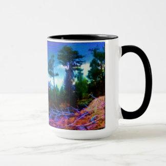 Tasse de café d'art de nature