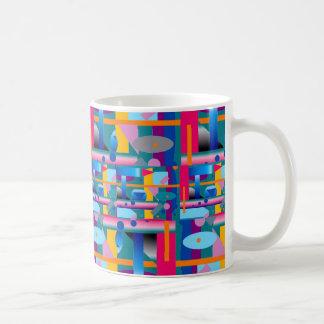 Tasse de café d'art moderne