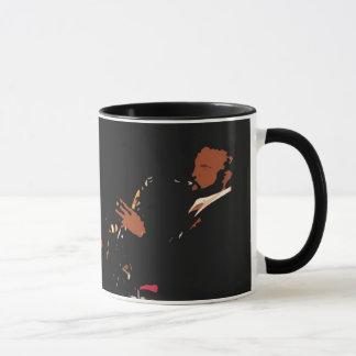 Tasse de café d'artiste de jazz
