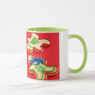 Tasse de café de biscuit sablé de Noël