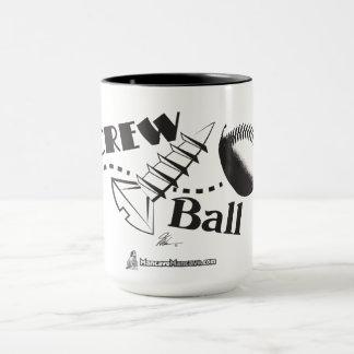 Tasse de café de boule de vis