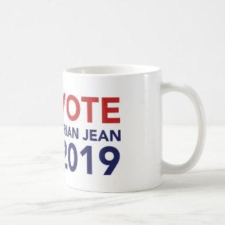 Tasse de café de Brian Jean de vote