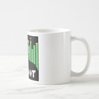 Tasse de café de butin du DJ