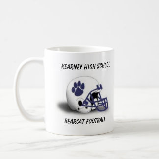 Tasse de café de casque de football de Bearcat de