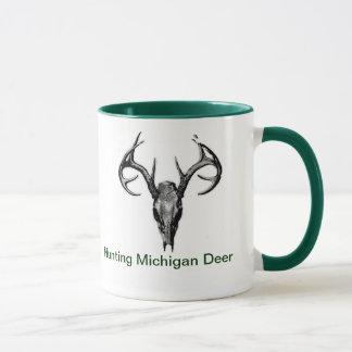 Tasse de café de cerfs communs du Michigan de