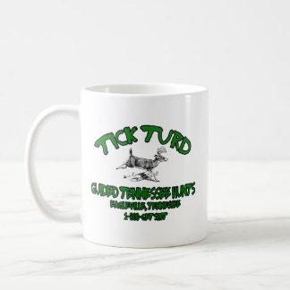 Tasse de café de chasseur de cerfs communs