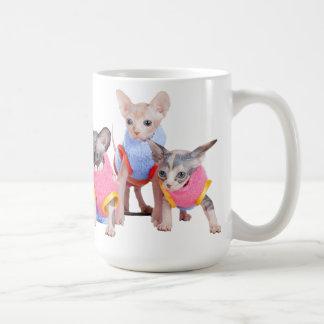 Tasse de café de chatons de Sphynx | GoSphynx.com
