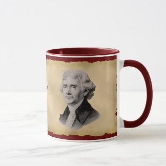 Tasse de café de citation de Thomas Jefferson