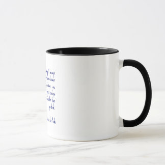 Tasse de café de citation de Winnie the Pooh